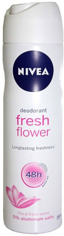Nivea Fresh Flower Deodorant Spray - For Women(150 ml)