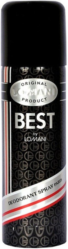 Lomani Best Deodorant Spray - For Men(199 ml)