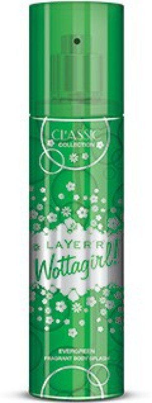 Layerr Wottagirl - Evergreen - Classic Collection Deodorant Spray - For Women(135 ml)