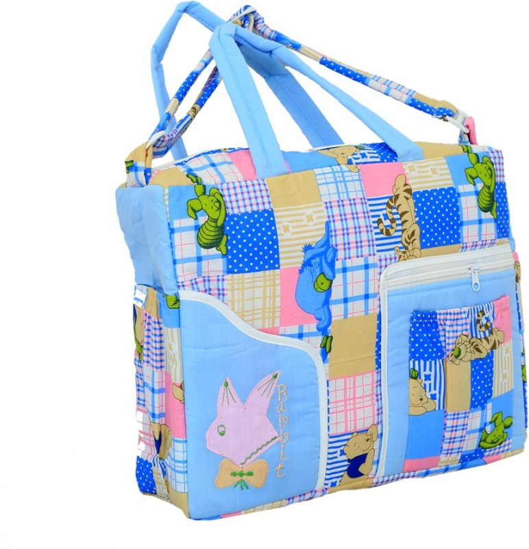 Kuber Industries Kuber Industries Diaper Baby Bag , Nappy Changing Bag , Mamma's Bag (Exclusive Design) Diaper Bag(Sky Blue)