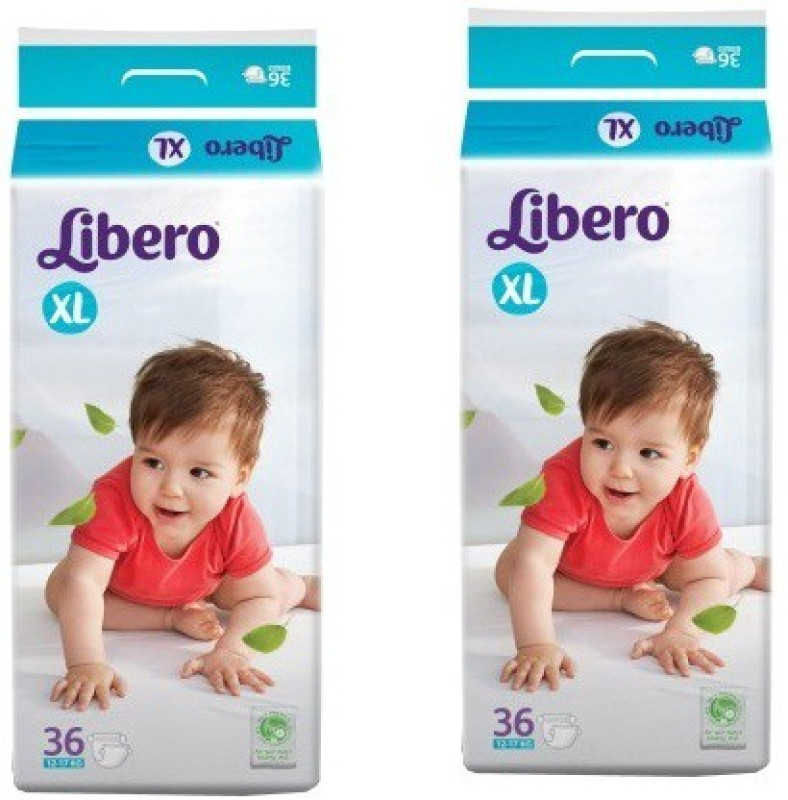 Libero Open Diapers - XL(2 Pieces)