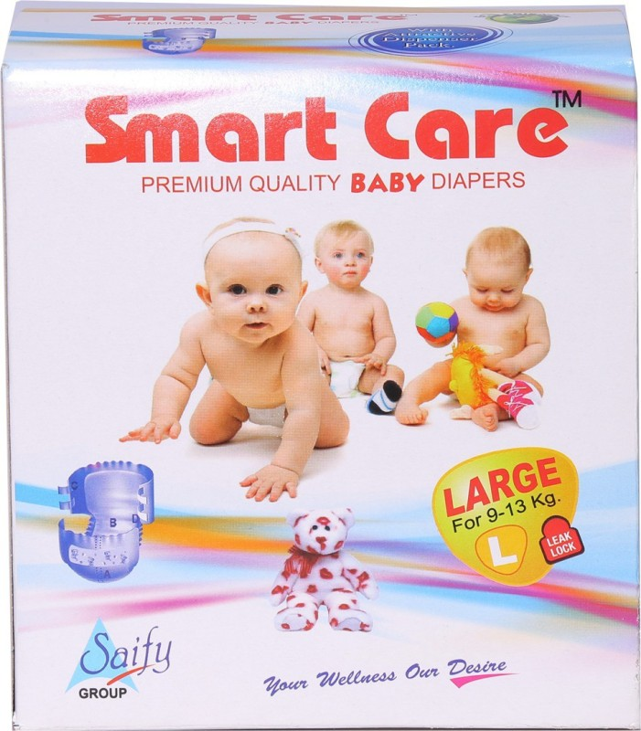 Smart Care DIAPER - L(10 Pieces)