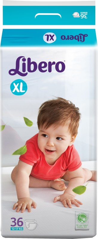 Libero Open Diapers - XL(36 Pieces)