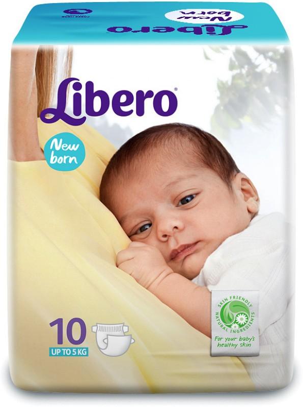 Libero New Born Diapers 10 Pieces