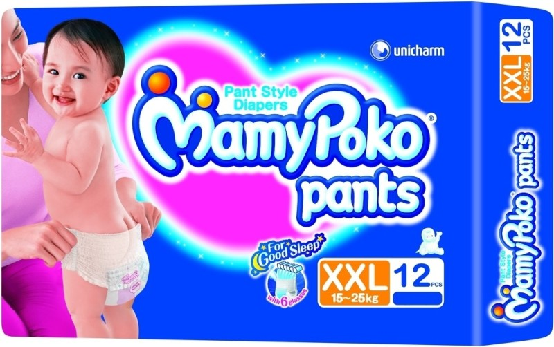 MamyPoko Pants Diaper - XXL(12 Pieces)