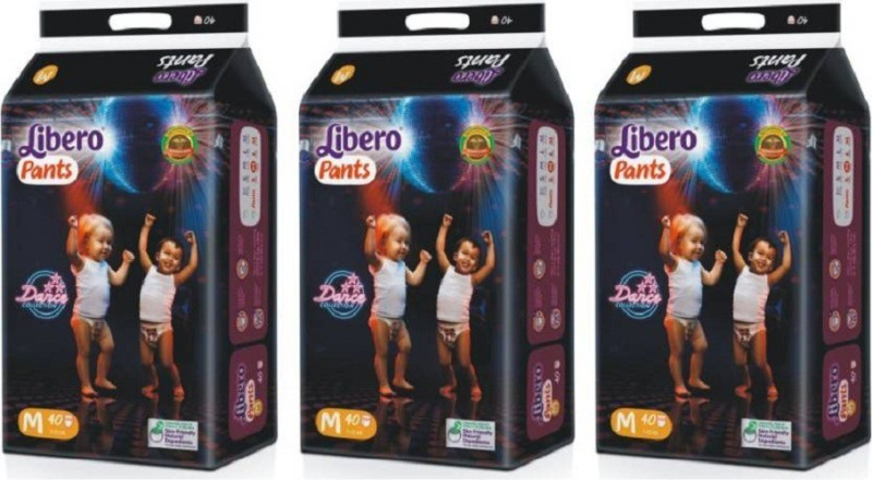 Libero diaper pent medium 40 pices - M(3 Pieces)