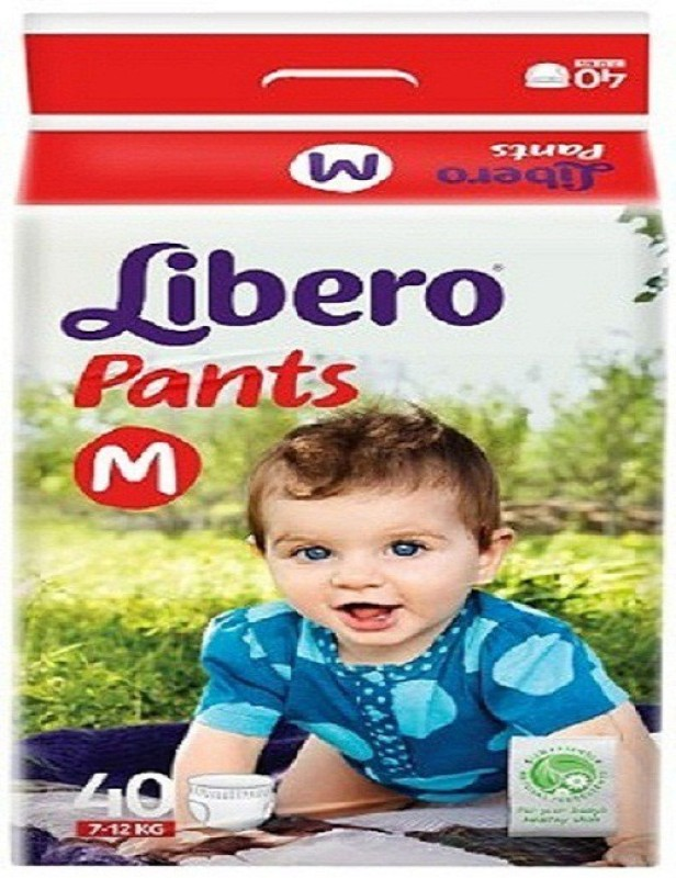 Libero Pants Diaper M-40 - M(40 Pieces)