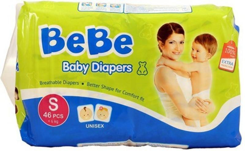 Bebe DIAPER - S(46 Pieces)