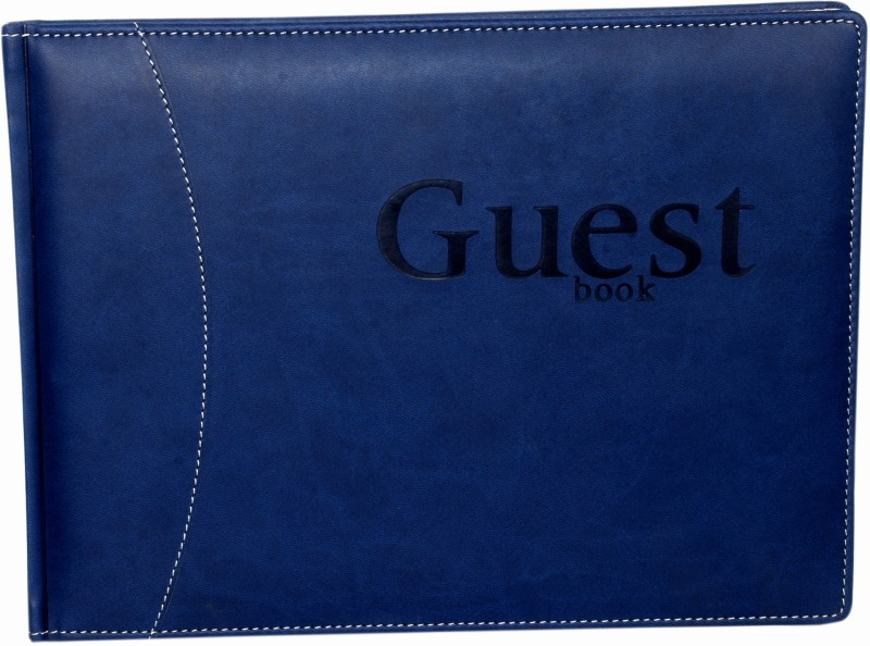 Sukeshcraft Guesst Book A3 Visitor's Book 95 Pages(Blue)