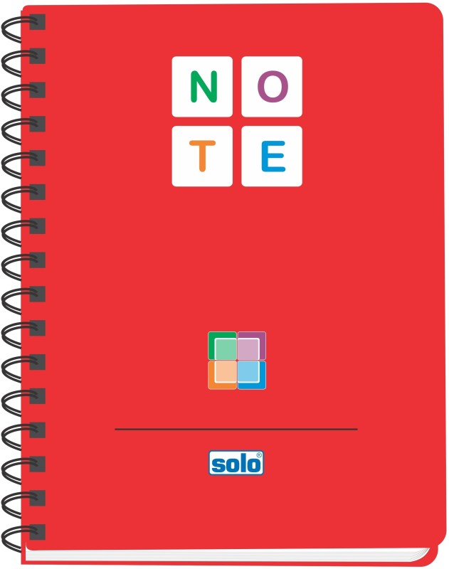 Solo Management (Set of 4) B5 Pages(Red)