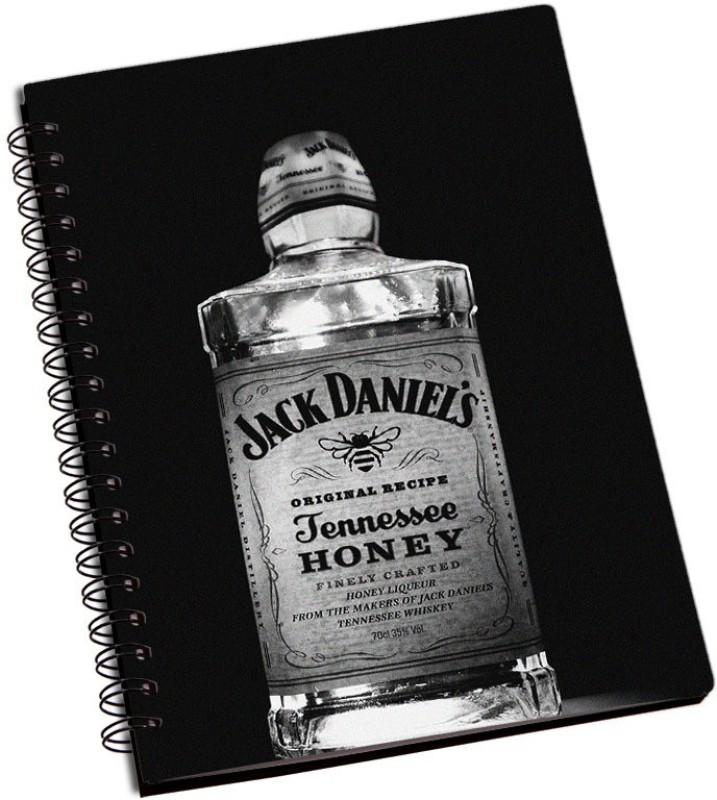 Rangeele Inkers A5 Notebook(Jack Daniels Bottle, Multicolor)