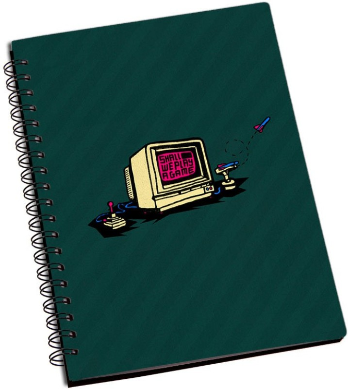 Rangeele Inkers A5 Notebook(Shall We Play Game, Multicolor)