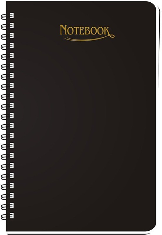 Abstract Collection A5 Notebook(A5 Regular Notebook, Black)