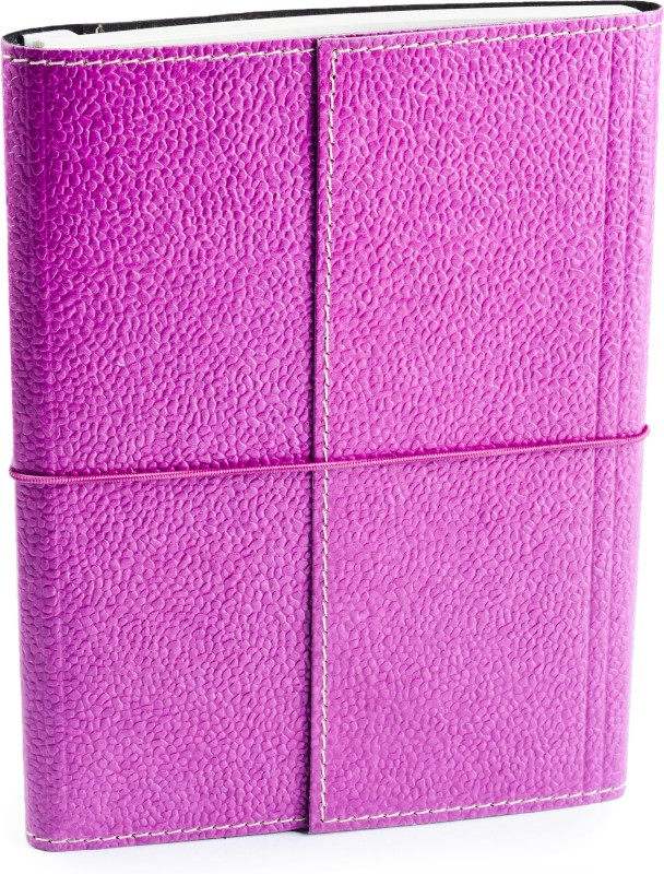 Eco-Leatherette Handcrafted A5 Journal Ruled 144 Pages(Lilac)