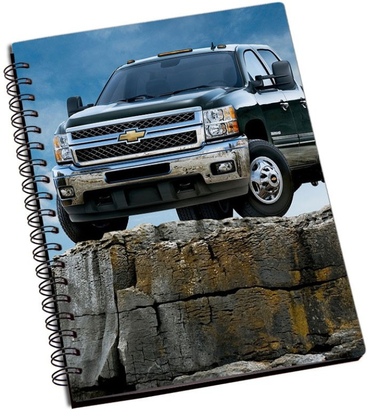 Rangeele Inkers Chevrolet truck A5 Notebook 200 Pages(Multicolor)