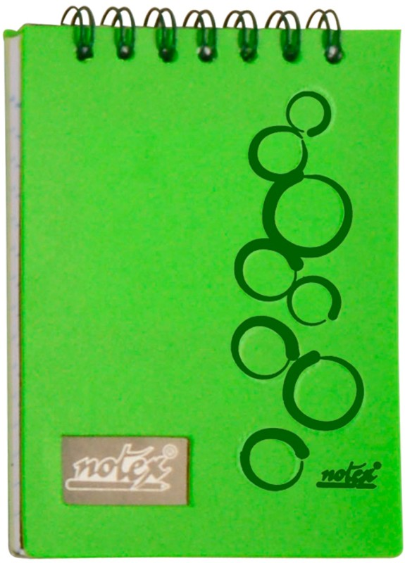 Notex A7 Memo Pad(EXECUTIVE POCKET PAD, Green, Pack of 4)