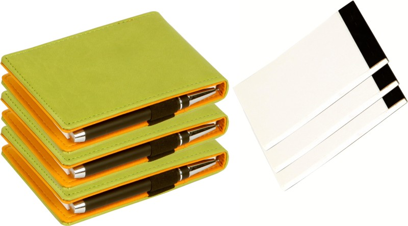 Sukeshcraft Note pad Pocket-size Note Pad 55 Pages(Light Green, Pack of 6)