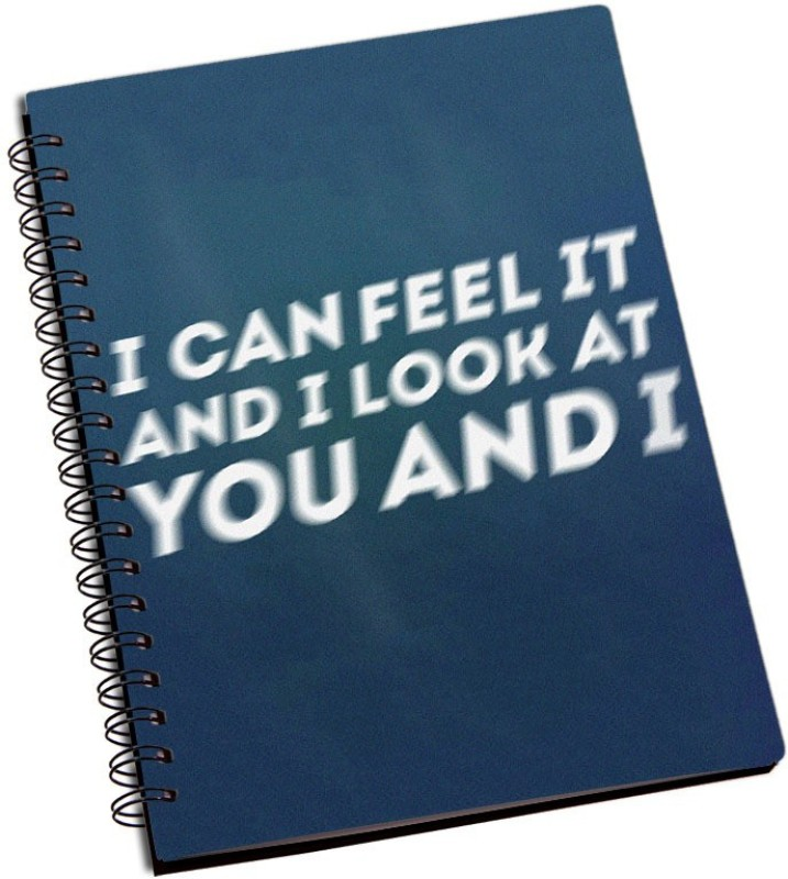 Rangeele Inkers You And I A5 Notebook 200 Pages(Multicolor)