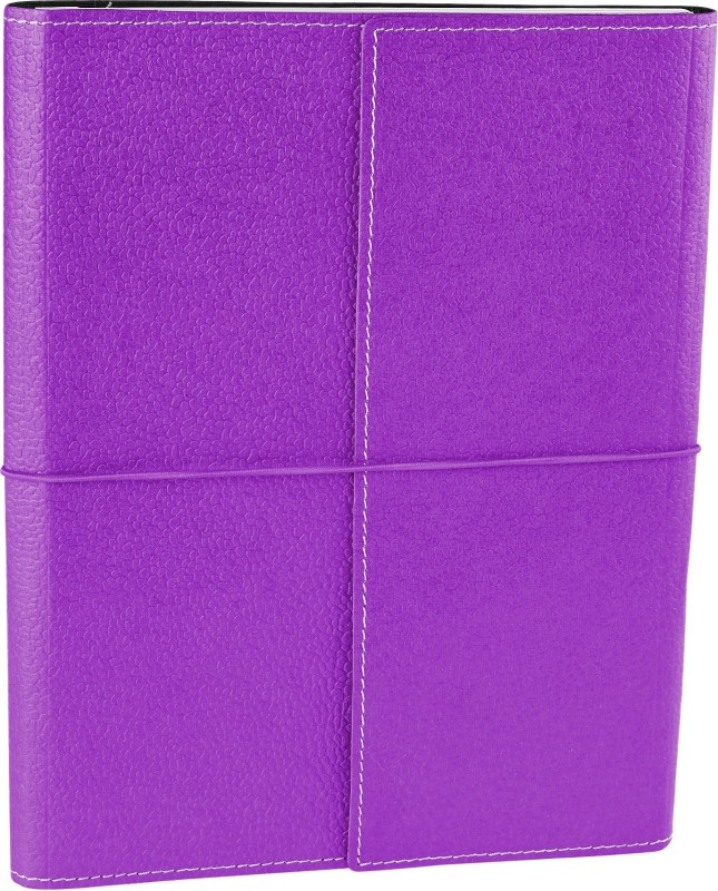 Eco-Leatherette Handcrafted B5 Journal 144 Pages(Lilac)