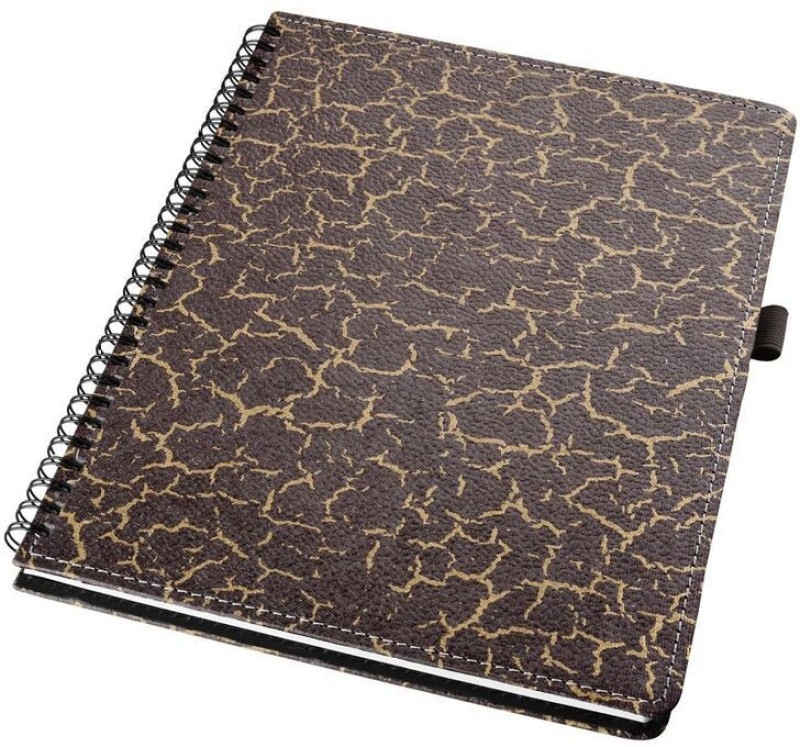 Eco-Leatherette Handcrafted B5 Notebook 196 Pages(Multicolor)
