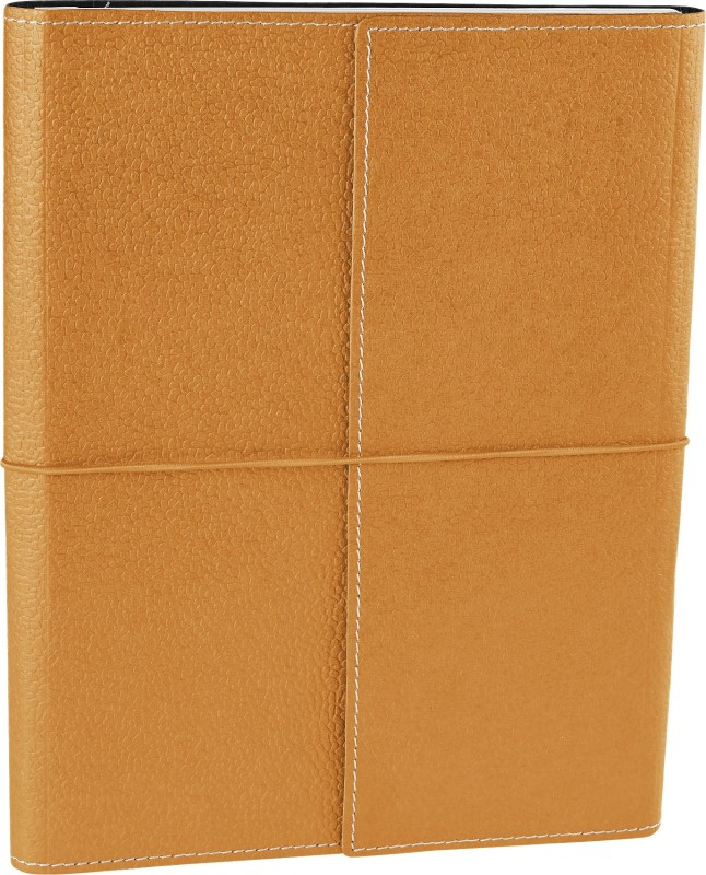 Eco-Leatherette Handcrafted B5 Journal 144 Pages(Royal gold)