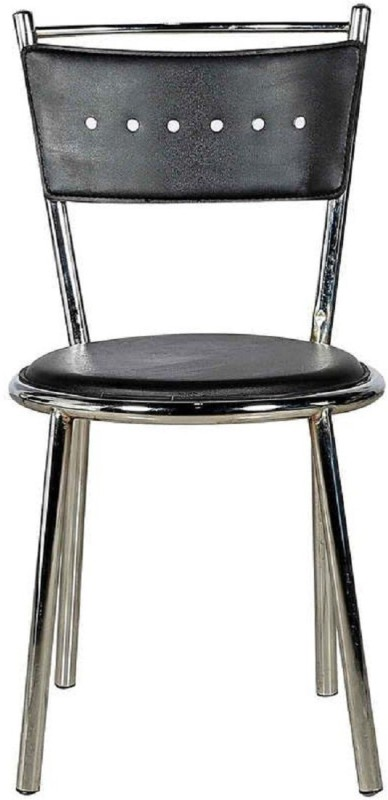 Parin Metal Dining Chair(Set of 2, Finish Color - black)