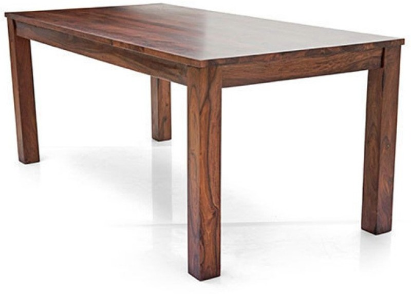 Urban Ladder Arabia XL Solid Wood 6 Seater Dining Table(Finish Color - Teak)
