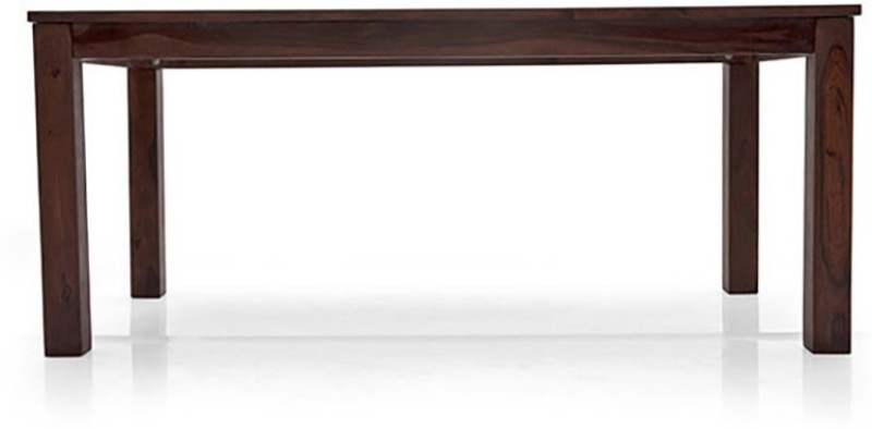 Urban Ladder Arabia XL Solid Wood 6 Seater Dining Table(Finish Color - Mahogany)