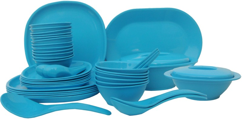 Incrizma Pack of 44 Dinner Set(Polypropylene)