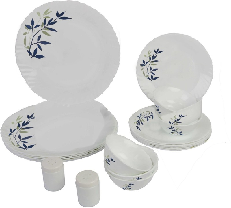 Laopala Silken Charm Pack of 20 Dinner Set(Ceramic)