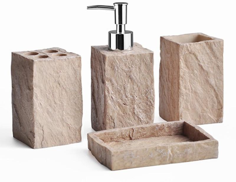 Shresmo Polyresin Bathroom Set(Pack of 4)