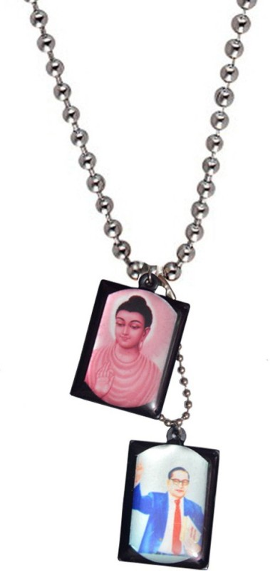 Men Style Budha Debossed Multicolor Dog Tag