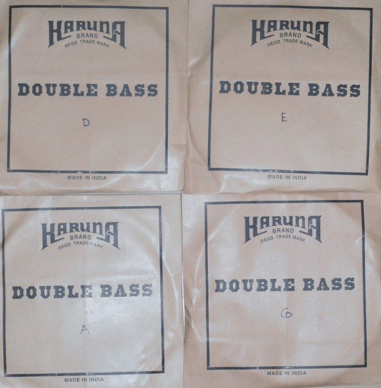KARUNA 4/4 Double Bass Strings(4)