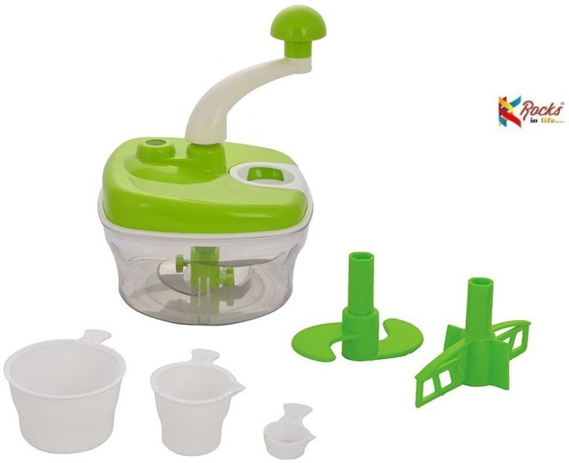 Rocks Plastic Detachable Dough Maker(Green)