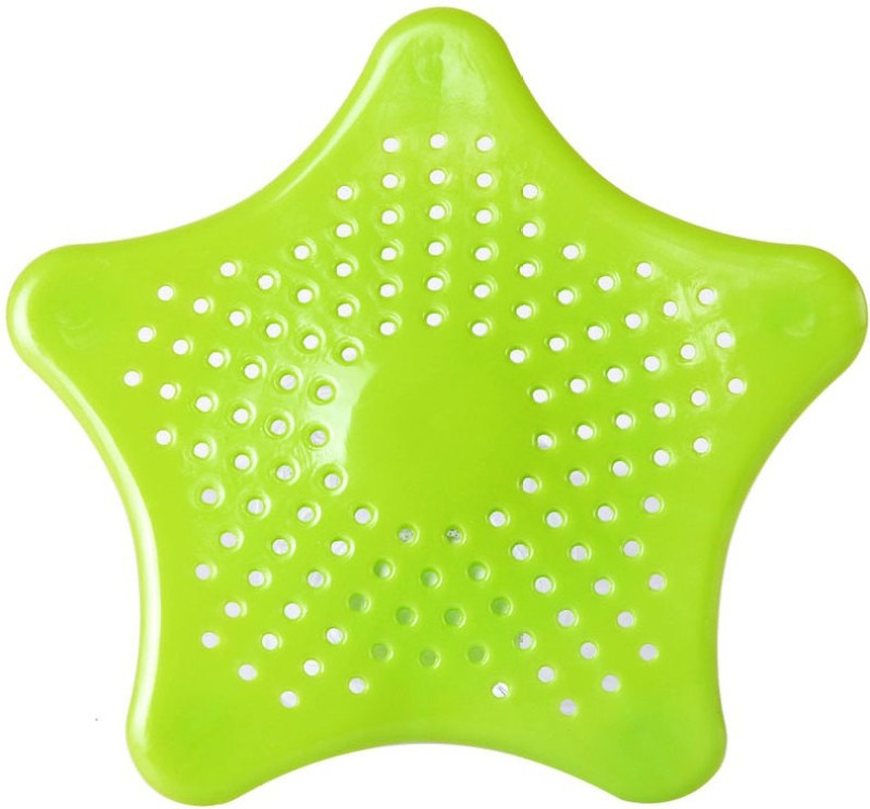 ShadowFax Kitchen Sink, Bathroom Sink Plastic Push Down Strainer(15 cm Set of 1)