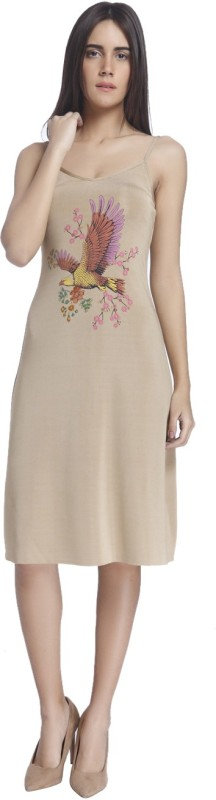 Vero Moda Womens Shift Beige Dress