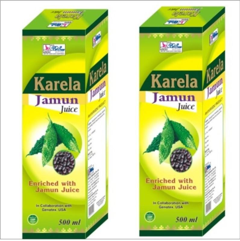 Besure Karela Jamun Buy 1 Get 1 500 ml(Pack of 2)