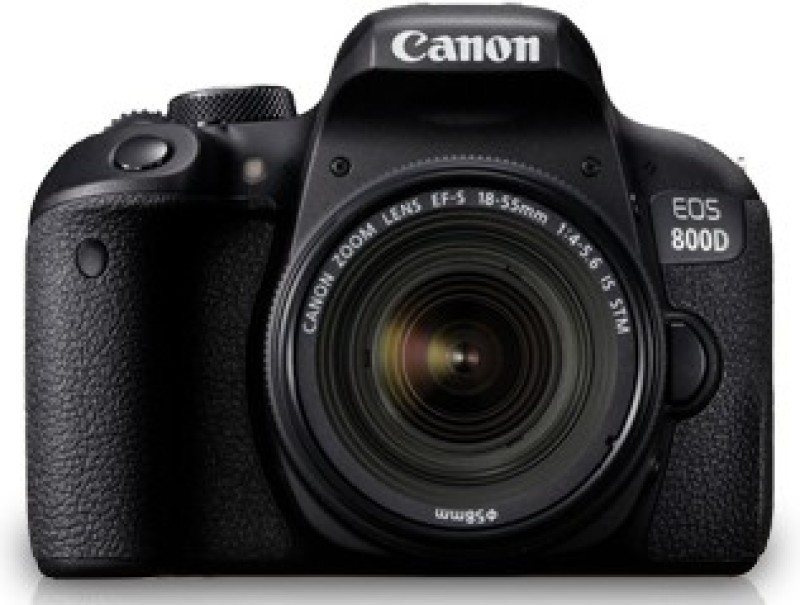 Canon EOS 800D DSLR Camera (Body Only) (16 GB SD Card + Camera Bag)(Black) image