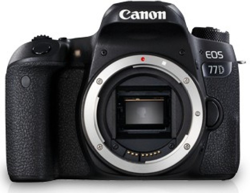 Canon EOS 77D DSLR Camera Body Only(Black)