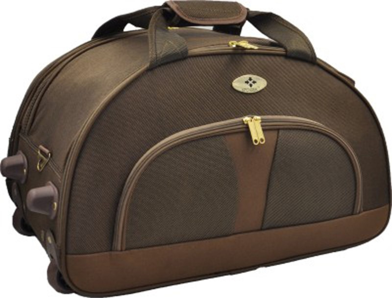 Abstar STROLLEY DUFFLE 20 inch/50 cm Duffel Strolley Bag(Brown)