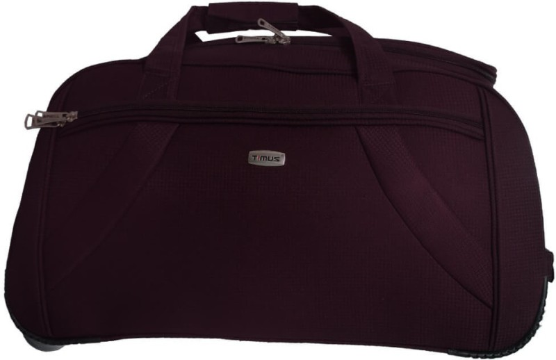 Timus CLUB MUMBAI DUFFLE TROLLEY Duffel Strolley Bag(Purple)