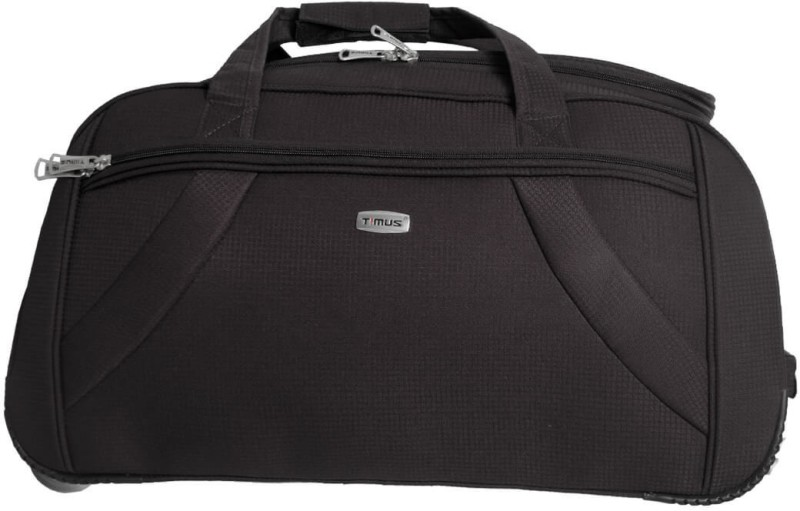 Timus CLUB MUMBAI DUFFLE TROLLEY Duffel Strolley Bag(Grey)