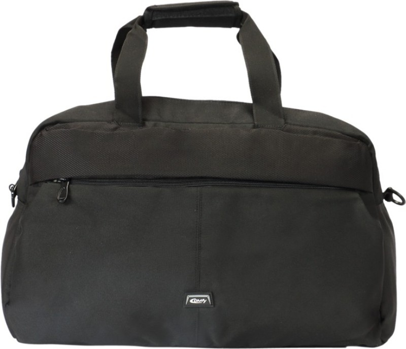 Comfy 3 inch/7 cm AT.02 Travel Duffel Bag(Black)
