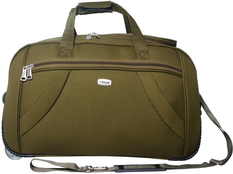 Timus CLUB MUMBAI DUFFLE TROLLEY Duffel Strolley Bag(Green)