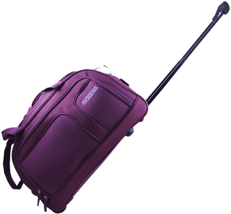 American Tourister 26 inch/67 cm AEGIS CORE 65 Duffel Strolley Bag(Purple)