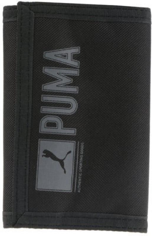 Puma Women Black Denim Wallet(2 Card Slots)