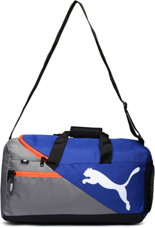 Puma Puma Fundamental Sports 17 inch/45 cm (Blue) 17 inch/45 cm Travel Duffel Bag(Blue)