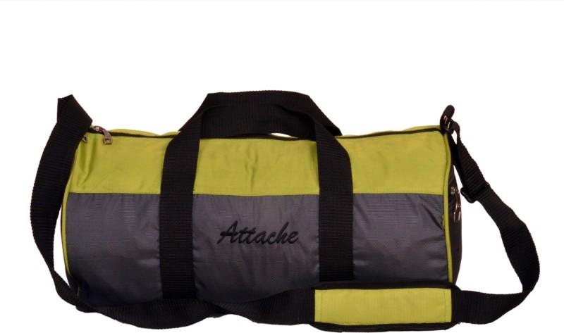 Attache 16 inch/40 cm 1013 G Gym Bag(Green, Grey)