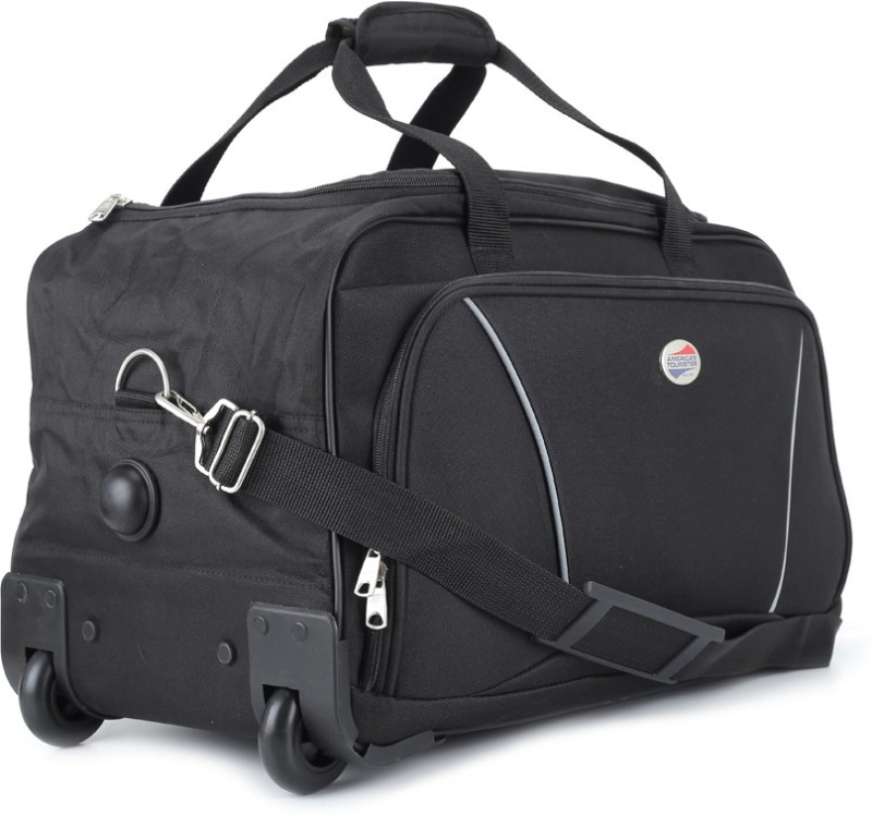 American Tourister 22 inch/56 cm Vision Travel Duffel Bag(Black)