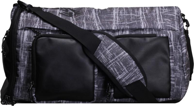 F Gear Xtreme Backpack cum Travel Duffel Bag(Black, Grey)
